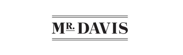 mr davis, mr davis undershirts, mr davis logo