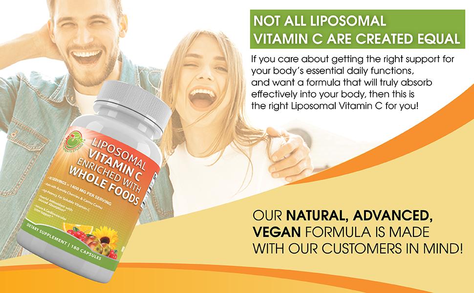 not all liposomal vitamin C are created