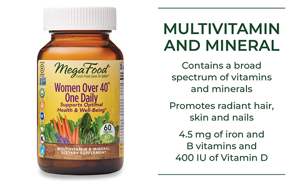 Contains a broad spectrum of vitamins and minerals