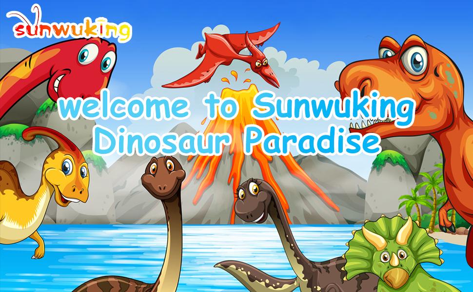 sunwuking Dinosaur Toy Figure