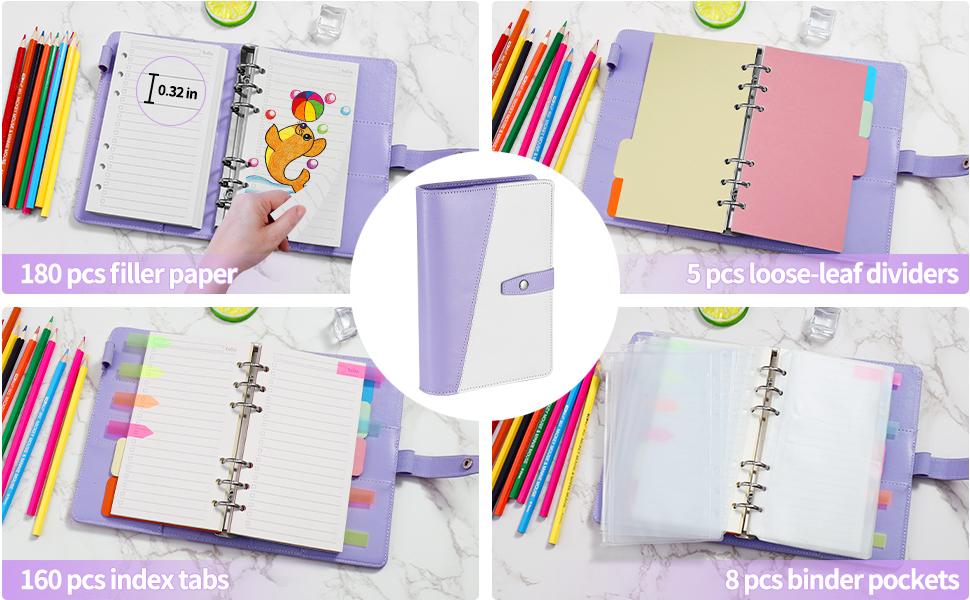 super value a6 planner, great budget binder pack, ideal 2021 planner gift