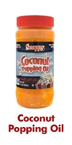 Coconut Popping Oil