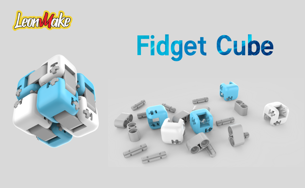leonmake building cube fidget toys