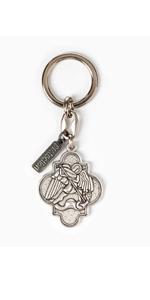 Archangel Michael Key Ring (Silver)