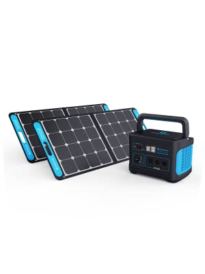 Generark Emergency Power Supply Bundle. Backup Battery Power Station & Solar Panels Power Generator