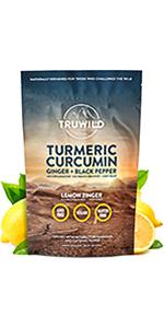 Truwild Turmeric, Reduce inflammation, Recover Faster, Replenish Electrolytes, Improve Gut Health
