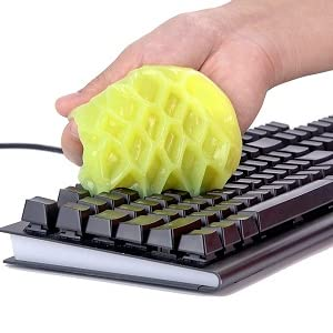 keyboard cleaner printer desk remote dust cleaner home dust cleaning slime gel jelly putty remover