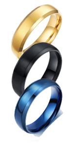 6 mm Brushed Ring