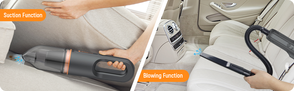 Blowing and Suction Function