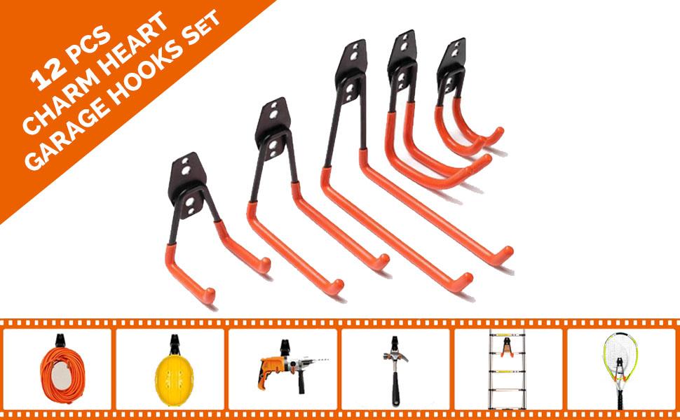 garage tool organizer hooks and hangers