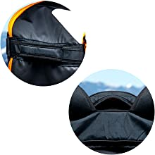 ski snowboard boot bag for air travel