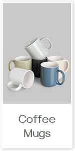 DOWAN Large Coffee Mugs, 20 Ounce Ceramic Coffee Mugs, White Coffee Mugs Set of 6 with Large Handle, Coffee Cup for Dishwasher Safe, Microwave Safe, Chip-free, Lead-free and DIY Paint: Kitchen & Dining