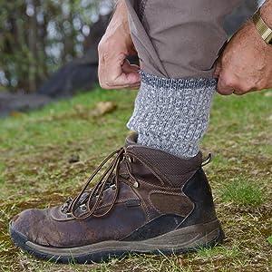 merino wool hiking camping skiing trekking outdoor winter warm scoks