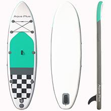 Aqua Plus 10ft6inx33inx6in Inflatable SUP