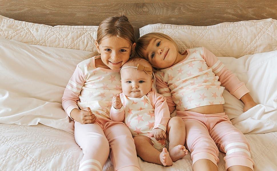 Babysoy all star lounge set PJS and /bodysuit/playwear