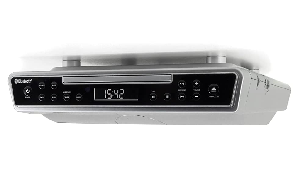 Soundmaster UR8SI Unterbauradio CD-RW/MP8 Player USB Bluetooth  Fernbedienung