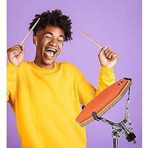 drum pads, drum practice pad, drum pad and sticks, drum practice pad with stand, drum pads practice