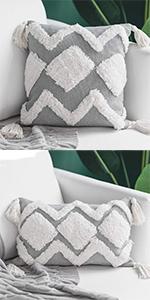 pillows cover couch 18x18 farmhouse sofa accent 20x20 bed cute 18 cushion grey decor case boho