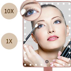 Light up Magnifying Makeup Mirror