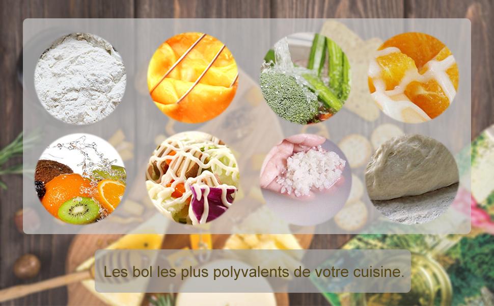 LesBol les plus polyvalents de votre cuisine.