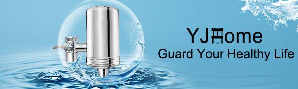 YJHome Elemento Filtrante de Cerámica Reutilizable 5 Capas para el ...
