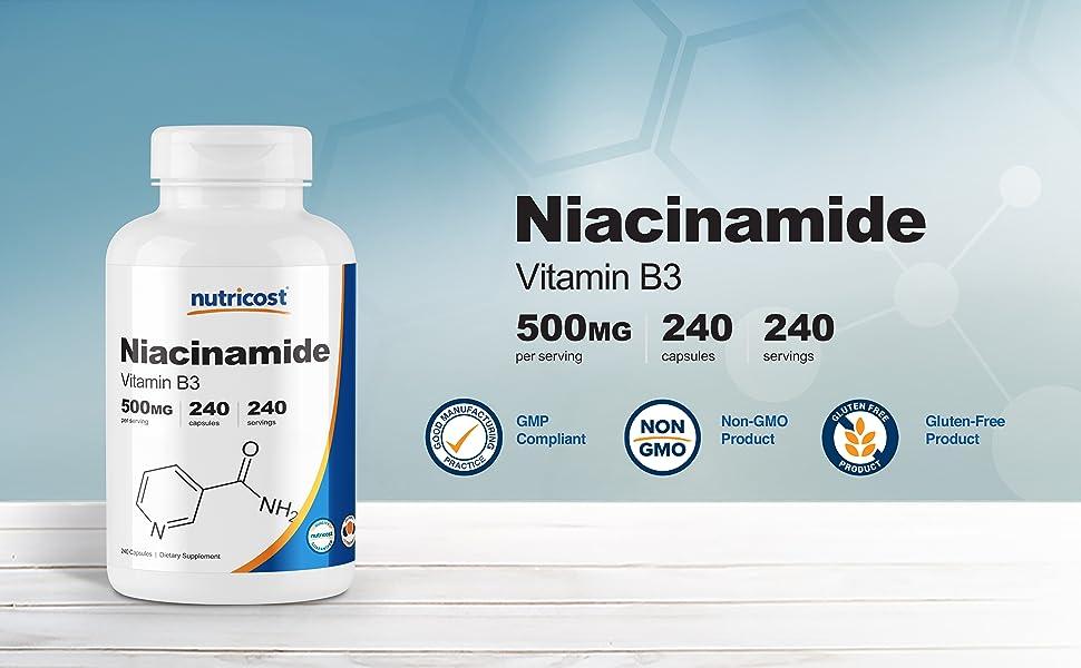 niacinamide vitamin b3 capsules caps