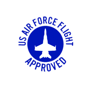 us air force flight approved badge