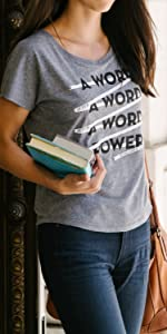 Out of Print Literary Themed Shirts