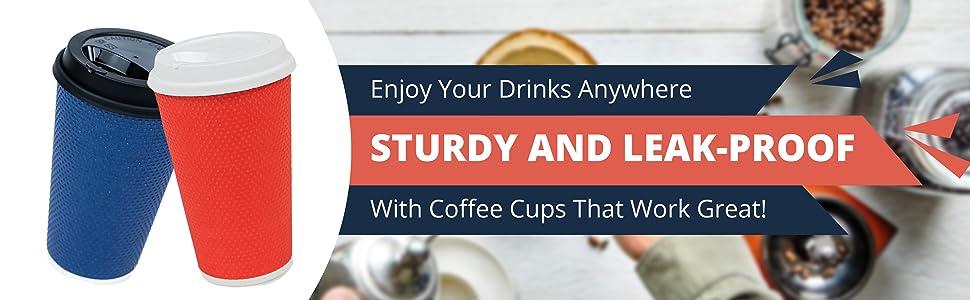 large togo coffee cups 16oz 16 oz