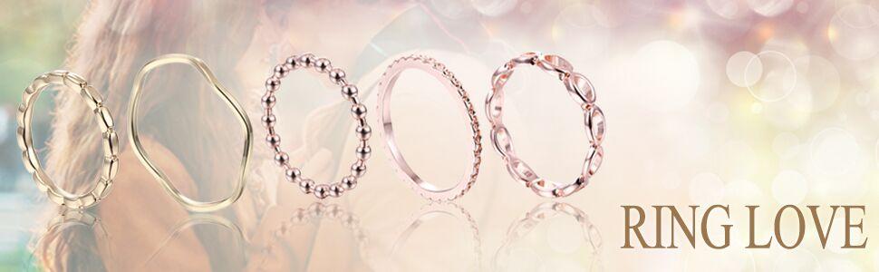 10pcs bohemian finger knuckle rings set