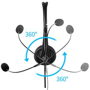 360° Rotating Microphone