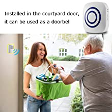 can be used as a doorbell