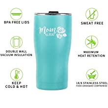 New Mom Tumbler Gifts, First Time Mom Est. 2020 Tumbler, Mom to Be Gift Idea, 20oz Insulated Tumbler