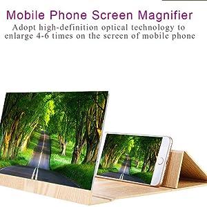 HD Mobile Phone Screen Magnifier