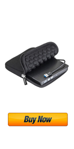 ROOFULL External CD/DVD Drive with Carrying Case Bag