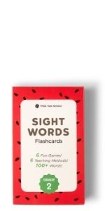 Think Tank Scholar 100+ Second (2nd) Grade Sight Words Flash Cards