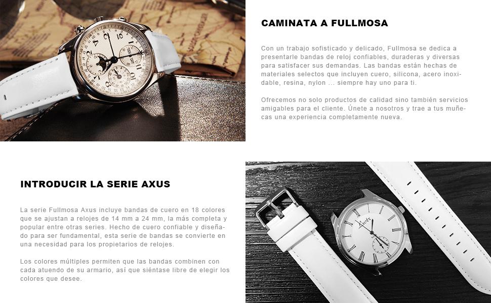 correa reloj 22mm