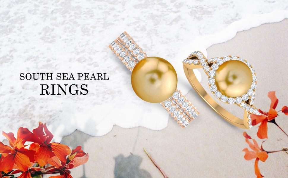 banner South Sea Pearl Rings