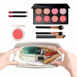 INSOUR 2 Pi/èces /Étanche Trousse de Maquillage de Toilette Femme Sac de Maquillage Cosm/étique Rangement de Voyage