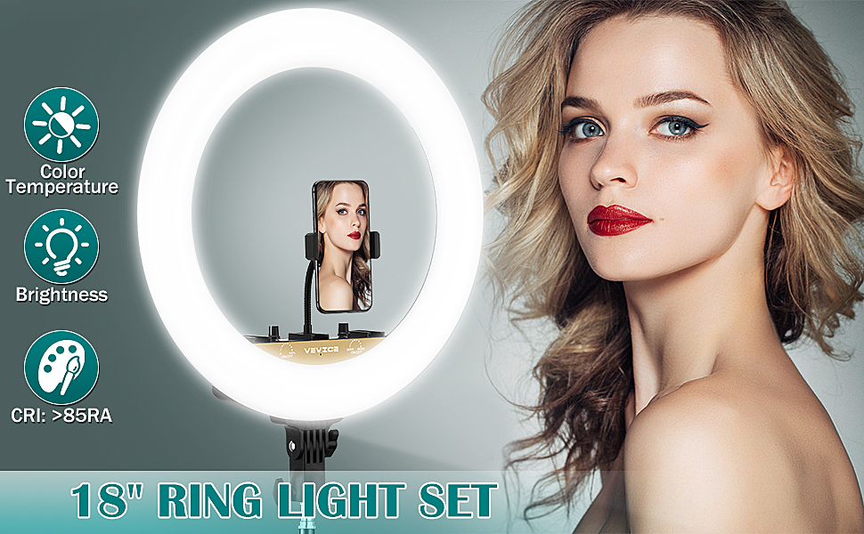 18-inch Dimmable LED Ring Light