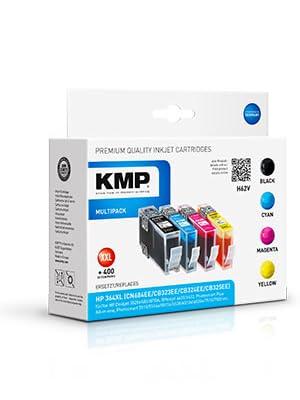 Kmp Tinte H62v Vorteilspack 4 Patronen Mit Chip Ersetzt Hp Nr 364xl Bürobedarf Schreibwaren