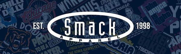 Smack Apparel Logo for Unlicensed Chicago Bears Fans Apparel (Bear Down Drink Up)