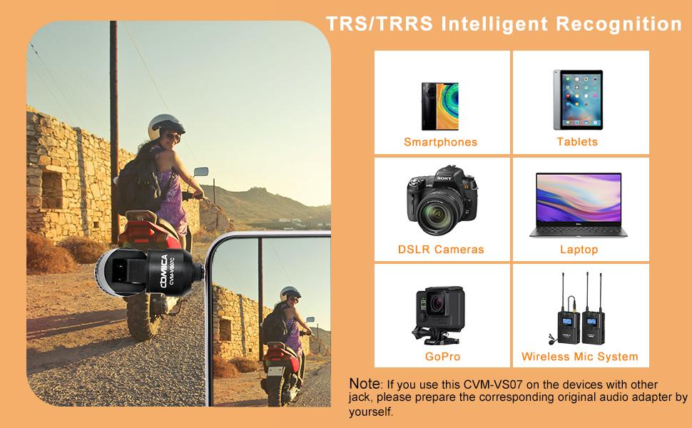 Trs/trrs intelligent recognition