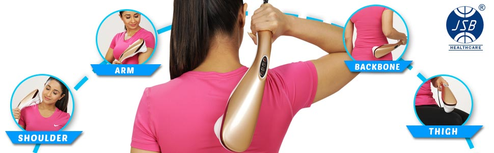 back massager stick with heat
