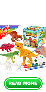 Dinosaurs Painting Set