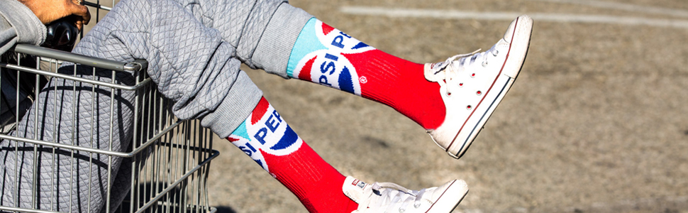 pepsi socks, socks, odd sox, odd socks, novelty socks