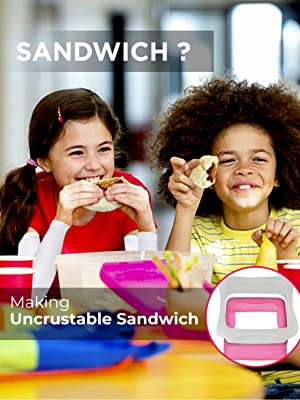 children at school eating their homemade uncrustables for lunch