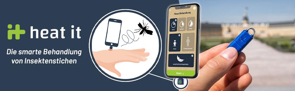 heat_it - die smarte und innovative Behandlung von Insektenstichen mittels Wärme