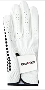 black golf glove