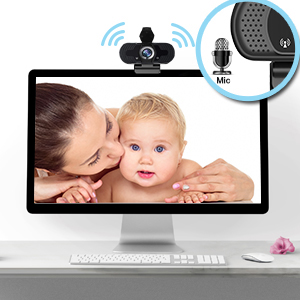 Webcam with Build-in Microphone